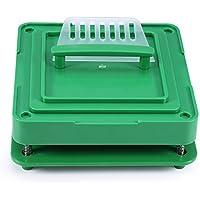 00# manual de encapsular cápsula Placas de cápsulas vacías con tamper 100 hoyos Polvos cosméticos Cápsulas Relleno