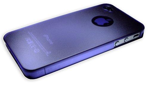 Xcessor Dark Magic Ultra Thin Hartplastik Fall für iPhone 4/4S–parent, Purple/Semi Transparent, 4S Purple/Semi Transparent