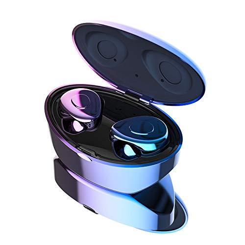 Auriculares inalámbricos Dangshuo Bluetooth 5.0 con funda de carga inalámbrica