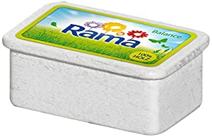 Erzi 5 x 3,5 x 2 cm Pretend Juega Grocery Madera Shop Mercancías Margarina Rama