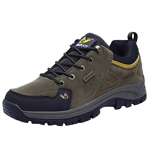 Bruder Kostüm Schwester - Fascino-M』 Wanderschuhe Low Trekking Schuhe Herren Damen Sports Outdoor Hiking Sneaker Waterproof Unisex Atmungsaktive wasserdichte Schuhe