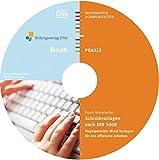 Schreibvorlagen nach DIN 5008: Regelgerechte Word-Vorlagen für das effiziente Arbeiten (Beuth Praxis)