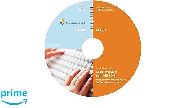 Schreibvorlagen Nach Din 5008 Regelgerechte Word Vorlagen Für Das