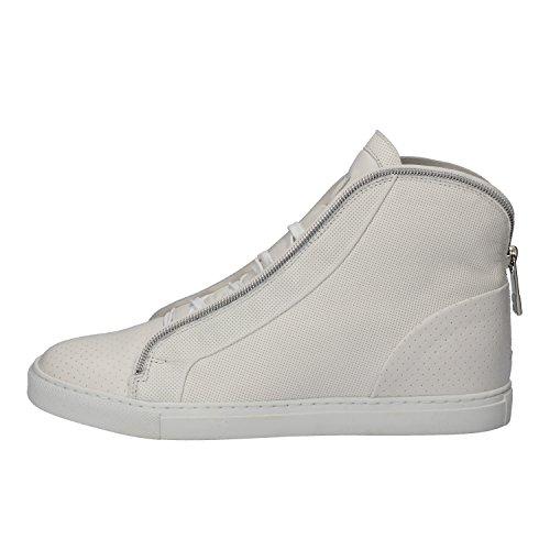 BIKKEMBERGS Sneakers Donna Pelle Bianco