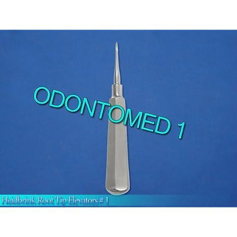 Heidbrink Root Tip Elevator # 1 Straight by ODONTOMED