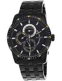 Titan Octane Analog Black Dial Men's Watch - 9449NM01J