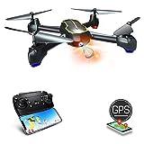 Asbww zy300| Drone avec Caméra Full HD 1080p et Fonction GPS pour Débutants - Drones...