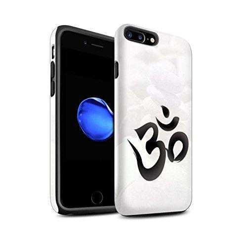STUFF4 Matte Harten Stoßfest Hülle / Case für Apple iPhone 6+/Plus 5.5 / Zen Statue Muster / Innerer Frieden Kollektion OM Symbol