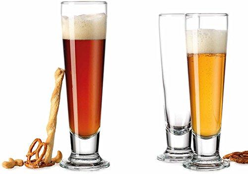 Bar esencial Set De 4pilsner-beer gafas 14oz