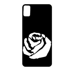 Vibhar Premium Printed Matte Designer Back Case Cover for Sony Xperia Z1 - White Rose