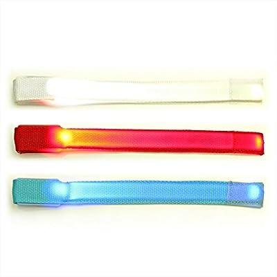 LED-Armband mit Klettverschluss, Leuchtarmband, Laufarmband, Jogging Armband, ©Ucult