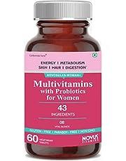 Carbamide Forte Multivitamins for Women Supplement - 43 Ingredients - 60 Tablets