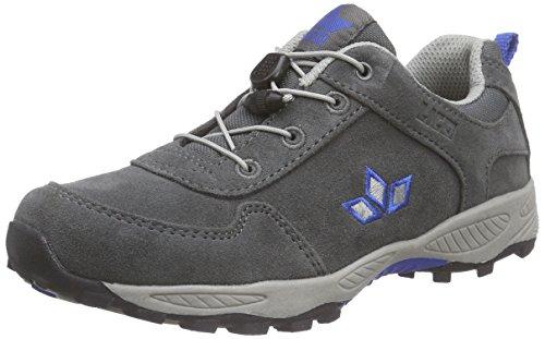 Lico Jungen Track Trekking-& Wanderhalbschuhe Grau (Grau/Blau)