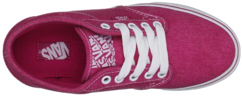 Vans Atwood, Sneakers Basses femme Rose (Textile/Berry/White)