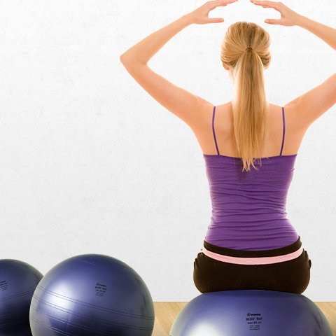 BeBo Therapie Ball | Beckenbodenball, 60cm