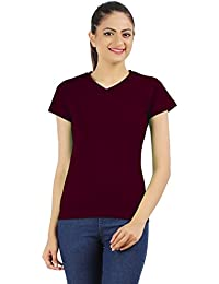 Ap'pulse Women's V Neck T Shirt
