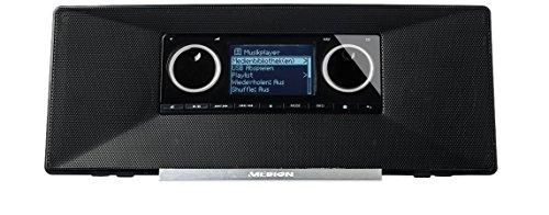 MEDION P85035 MD 87090 Internetradio mit DAB+ (DAB+ Digital-Radioempfang, UKW, Wecker, Sleeptimer) schwarz