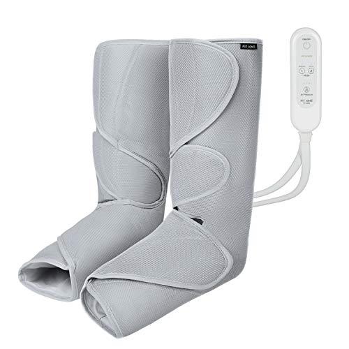 FIT KING Massagegerät für Beine und Füße, Bein-Massage-Gerät für Bein Kalb Fuß Massage bei Verspannungen und Schweren Beinen mit 2 Modi 3 Intensitätsstufen FT-009A
