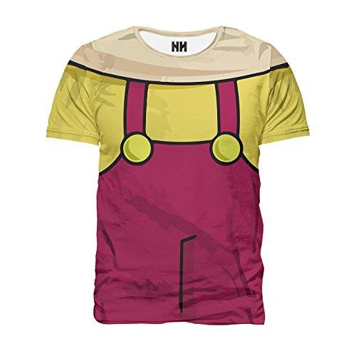 Noorhero T-Shirt Herren - Stewie Griffin (Stewie T-shirt Männer)