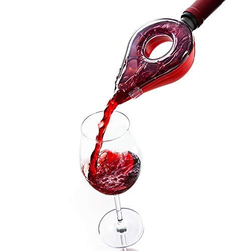 YAJAN-Decanter Verseur aérateur de vin, Aérateur Rapide, du Vin Pourer, Creative Carafe à vin Rouge Rapide, Outils de Bar Accessoires de Cuisine