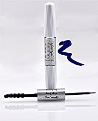 GlamGals 2 in 1-Black Mascara + Blue Liner,10 ml