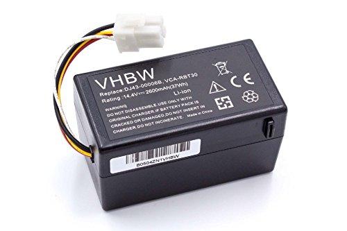 Vhbw Batería Li-Ion 2600mAh 14.4V robot aspidador
