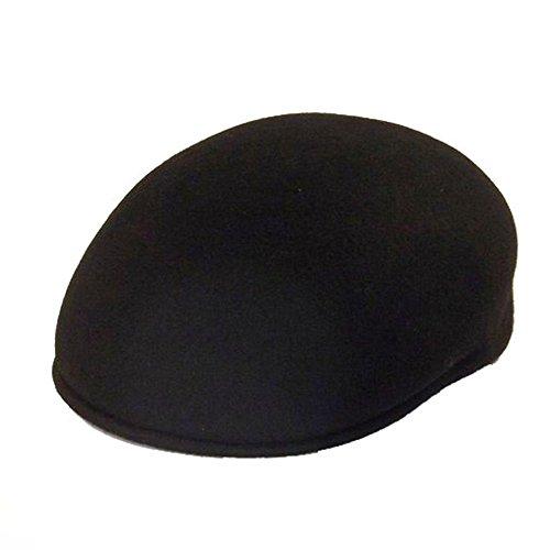 Chapeau-tendance - Casquette 100% Laine Homme Noir - 56 - Homme