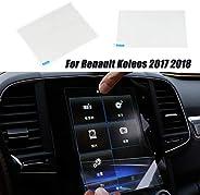 Piaobaige 8.7 بوصة نظام الملاحة زجاج مقوى حامي شاشة السيارة الملحقات الداخلية للسيارة رينو كولوس 2017 2018