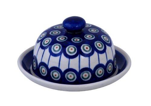 Boleslawiec Pottery GU-742/8 Petite cloche à fromage