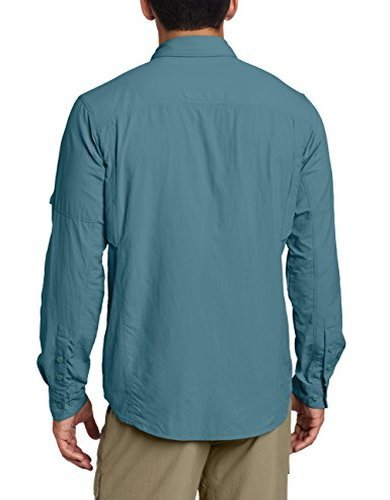 Columbia Herren Silber Ridge Long Sleeve Shirt Blau
