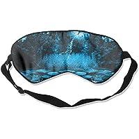 Blue Flowers Lotus Butterfly 99% Eyeshade Blinders Sleeping Eye Patch Eye Mask Blindfold For Travel Insomnia Meditation preisvergleich bei billige-tabletten.eu