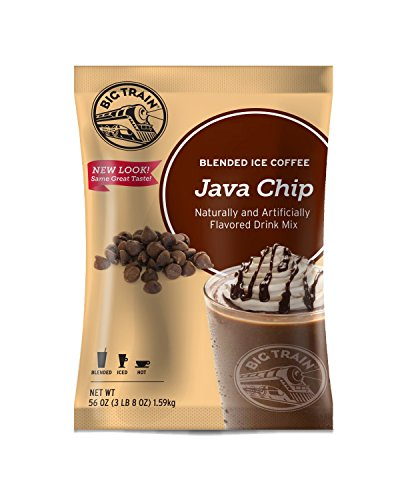 Big Train Blended Ice Coffee, Java Chip, 3.5 Pound Java Chip