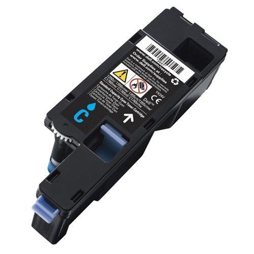 Dell Original Laser-Tonerkartusche für 1250/1250C/1350cn/1350CNW/1355CN/1355CNW/C1760/C1760nw/C1765/C1765NF/C1765nfw/C17x x-Cyan