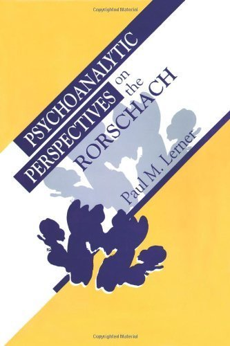Psychoanalytic Perspectives on the Rorschach by Lerner, Paul M. (1998) Hardcover
