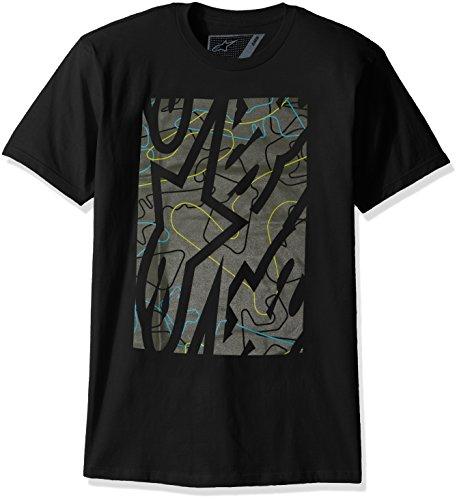 Alpinestars T-Shirt Melee Schwarz Schwarz