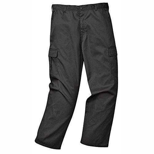 Portwest C701BKR40 Pantaloni Combat, Nero, 40