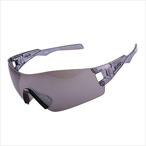 BJYG Sportsonnenbrille Klassisch Retro Polarisierte Sportsonnenbrille Urlaub Entspannen Selbstfahrer Tour Rahmenlos Große Größe Farblinse Fahren im Freien Reiten Fahrrad Mountainbike Anti-UV Anti