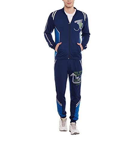 Yepme Men's Poly Cotton Tracksuits - Ypmtrack0159-$p