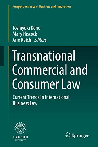 Transnational Commercial and Consumer Law: Current Trends in ...