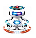 Vikas gift gallery Naughty Dancing Robot Toy, White