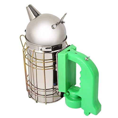 Bee Hive Smoker, USB recargable de acero inoxidable eléctrico Beehive Smoker Equipo de apicultura...