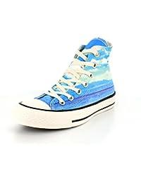 Converse - Converse All Star Chuck Taylor Spray Paint Chaussures de Sport Femme 551007C - céleste, 35