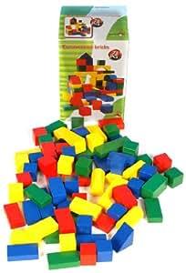 Bausteine Bauklötze Holzspielzeug 75 Teile