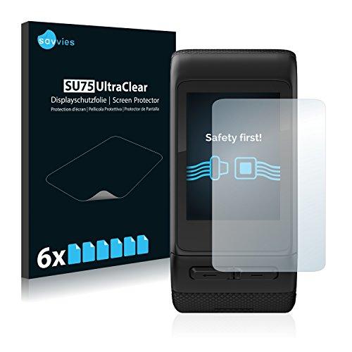6x-savvies-protector-pantalla-para-garmin-vivoactive-hr-protector-transparente