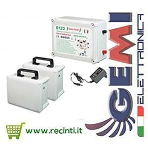 RECINTO ELETTRICO ELETTRIFICATORE B12/2 12V EXTRAFORTE KIT COMPLETO