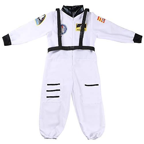 Astronauten Kinder Kostüm - Tacobear Astronaut Kostüm Kinder Space Kostüm Rollenspiel für Kinder Halloween Cosplay Kostüm mit verstellbar Gurt