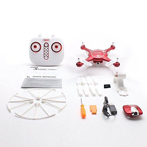 Lovelysunshiny Syma X5UW WiFi FPV 720P Camera Altitude Hold without Head Mode RC Drone Quadcopter