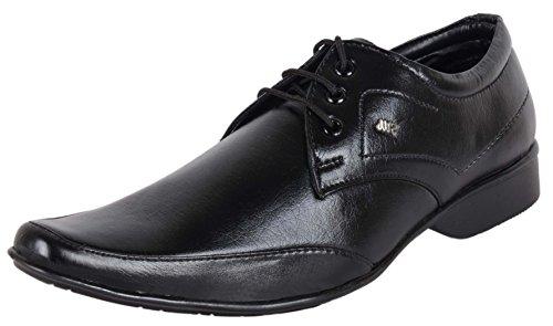 AUSTRICH Men's Black Synthetic Derby Shoes - 10 UK