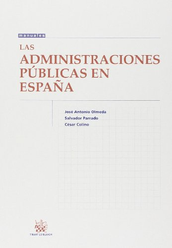 Las administraciones públicas en España por César Colino Cámara