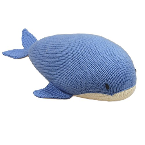 Mama Ocllo - Bio Animale Di Peluche, Balena, Cotone, Lavorato a Mano